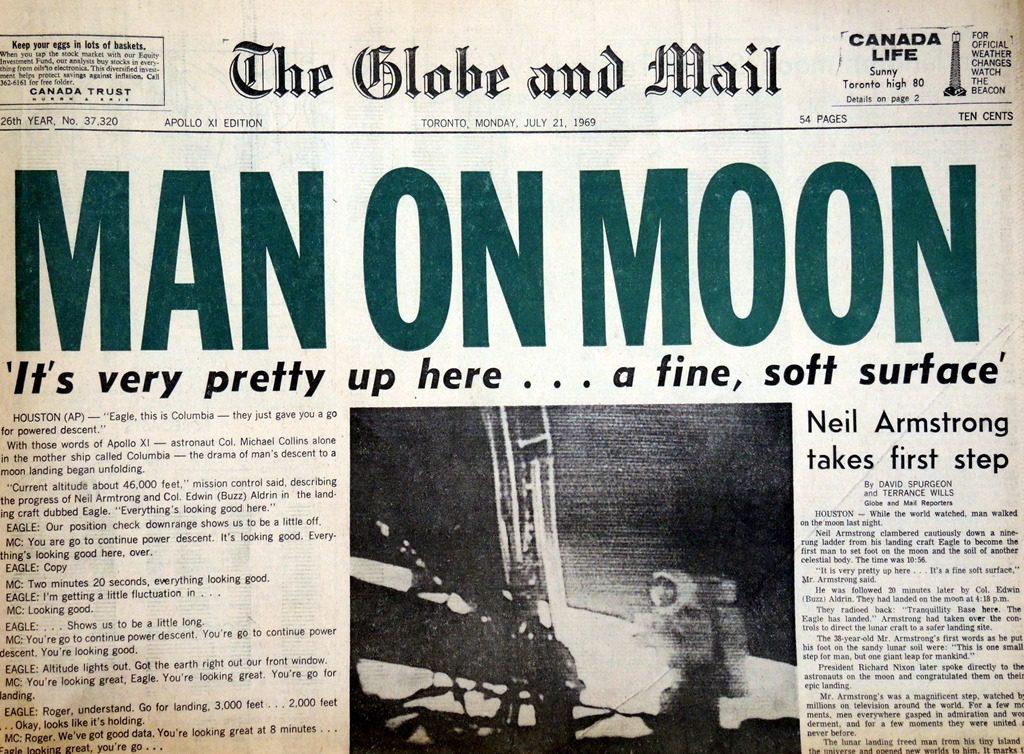 man on the moon essay